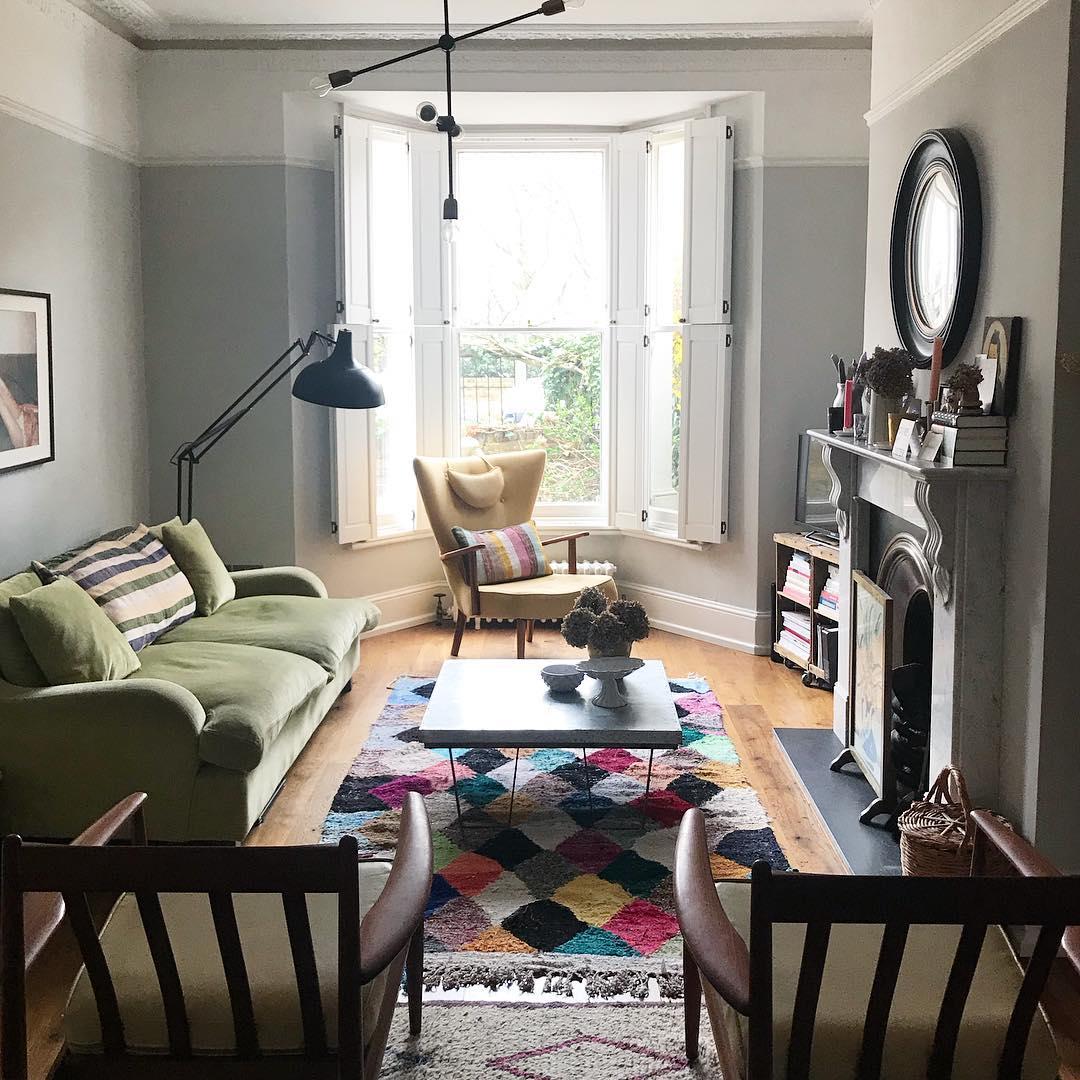 THE sofa looking cosy at edit58 HQ