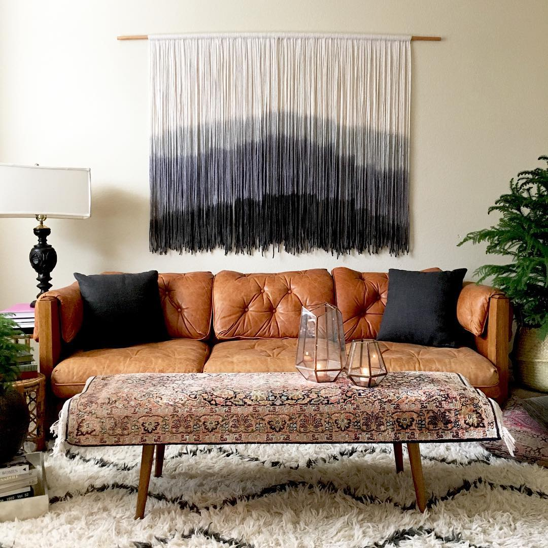 A beautiful wallhanging by  Lauren Williams . It's gorgeous but not for me.