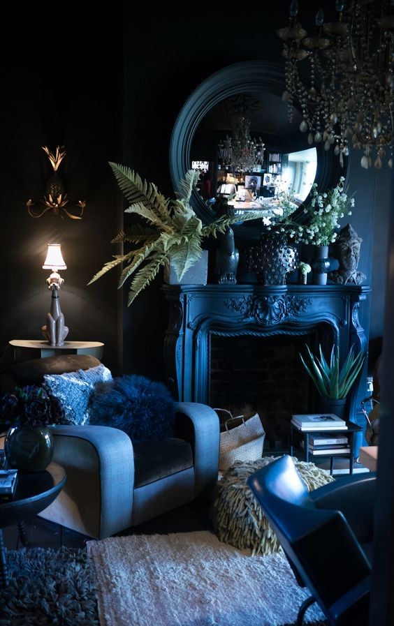 Abigail Ahern's sitting room - Image credit Abigail Ahern