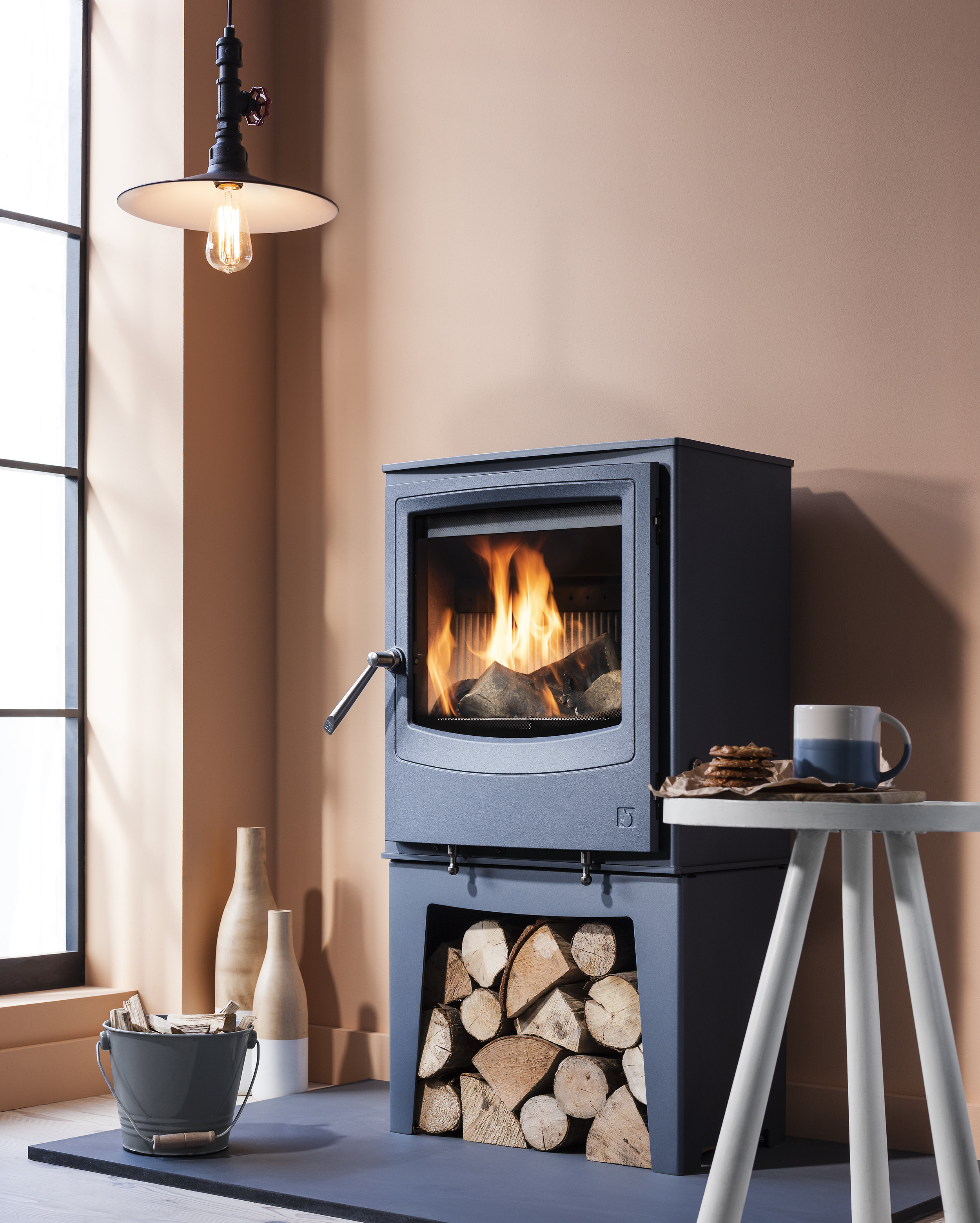 The Farringdon stove in Atlantic