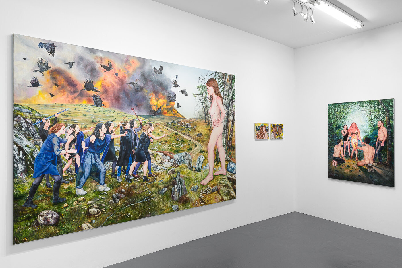 Ruines et plaisirs - 2018  galerie Sator, Paris  © Grégory Copitet