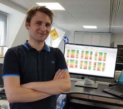 Liam Asman  Graduate Developer