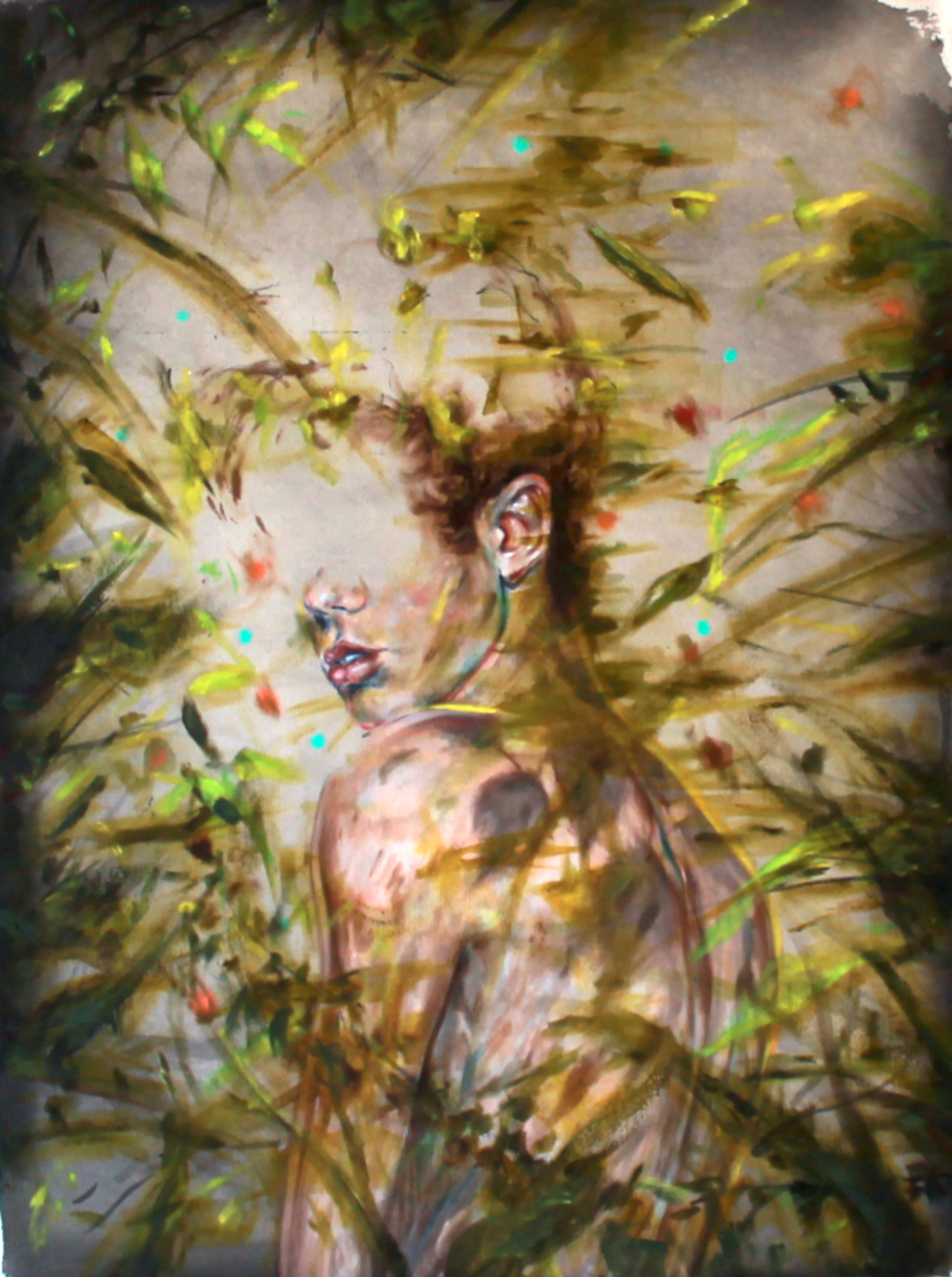 BIRDSNEVERBORED_PAUL_DEFLORIAN_And-Tell-You-About-The-Tree-Angel-Enchanted-Forest-Boy-Oil-On-Canvas-2014-1.jpg
