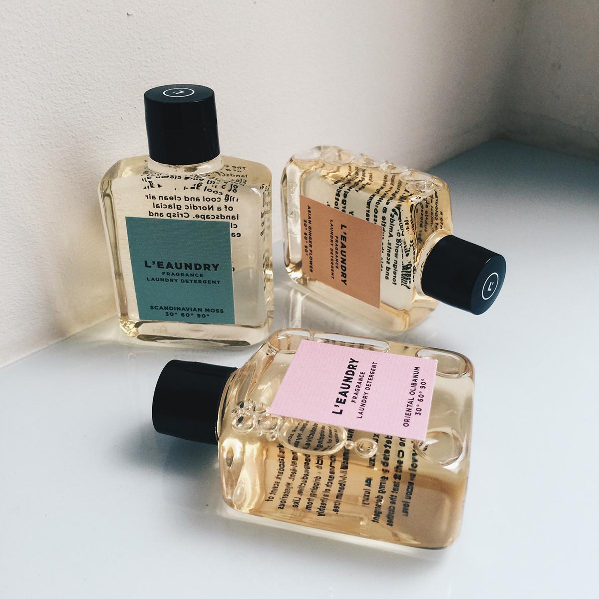 Laundry Fragrance Detergent Miniatures