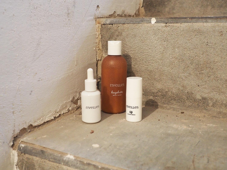 Best of RIVELLES. Hagebutte Body Wash | Polir Serum| Lift Augencreme