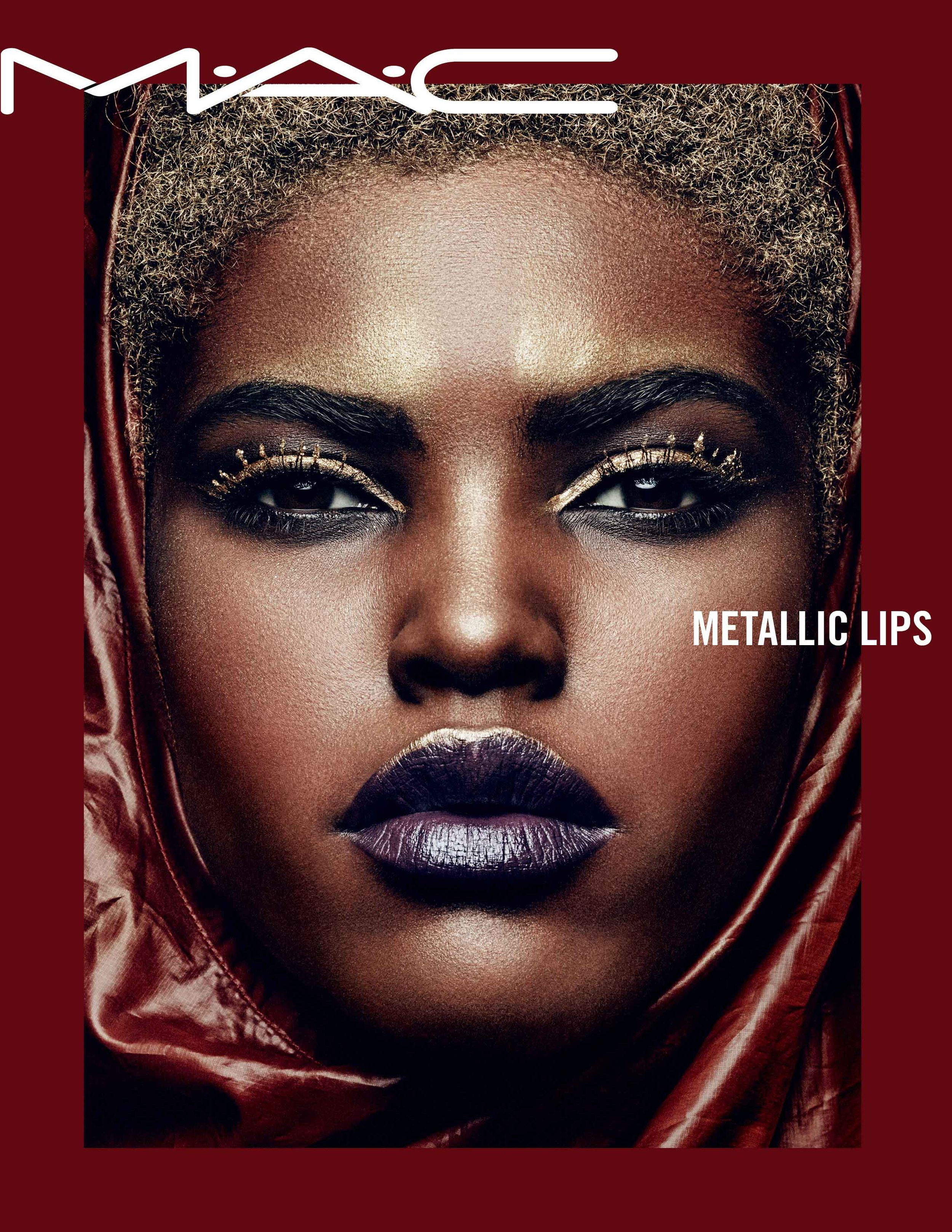 Sparkling lips by MAC Cosmetics