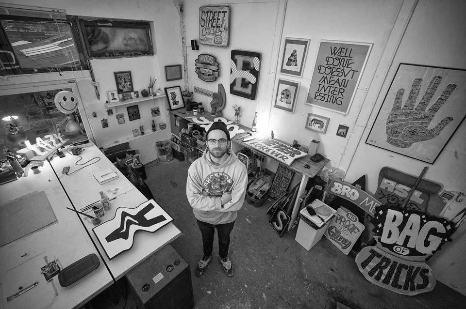 Rylsee in his studio. © Low Weakness
