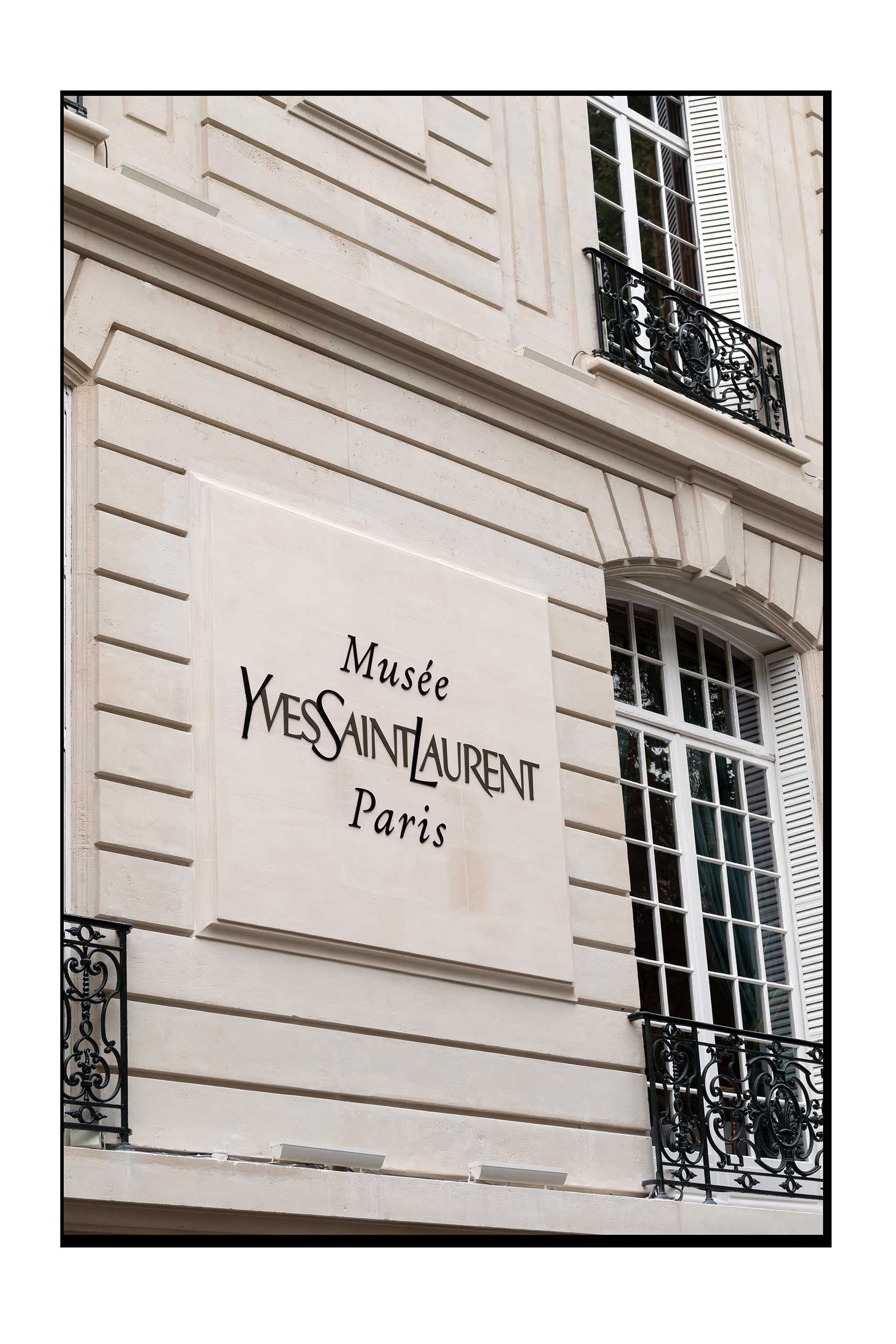 The Studio - ...of one of the greatest couturiers of the last century has opened its doors, giving us access to the exclusive haute couture salons and Saint Laurent's studio in which fashion history was made.