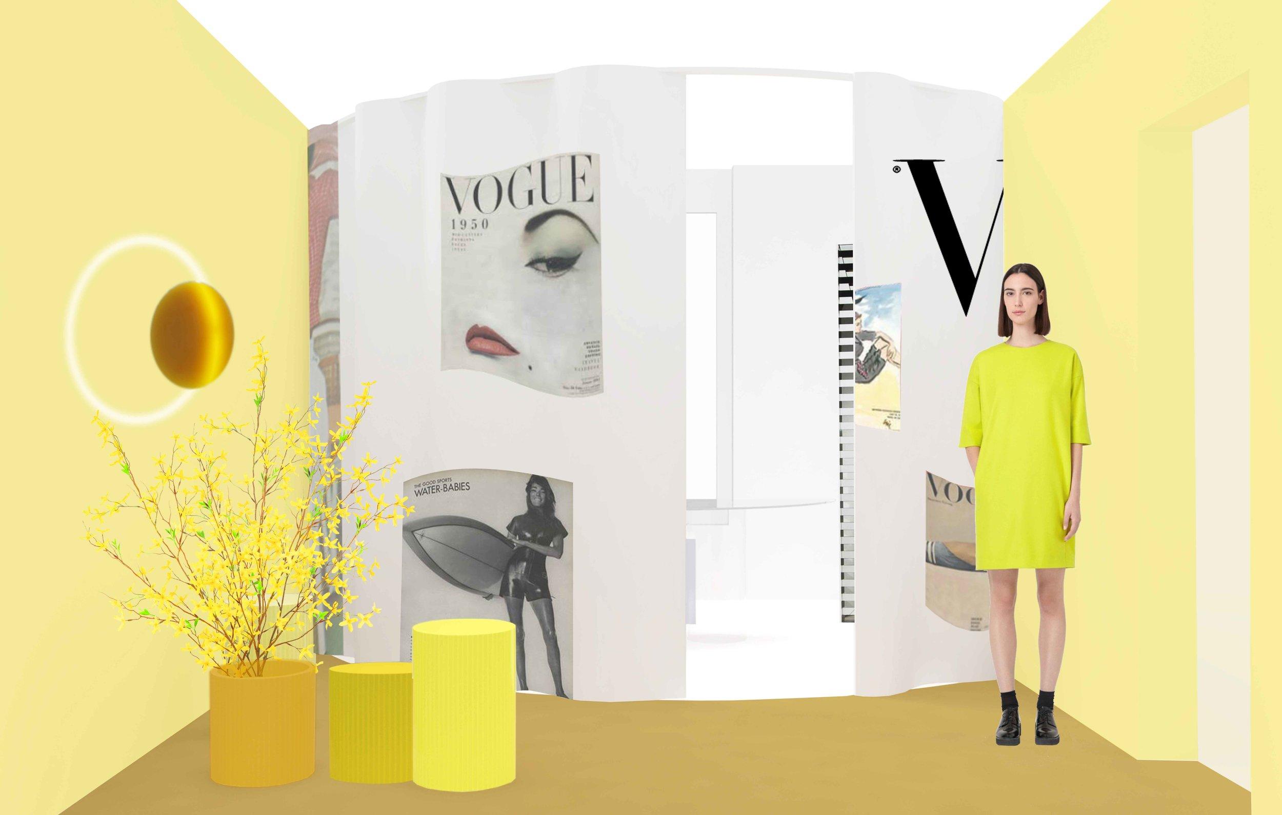 Life in Vogue  by SABINE MARCELIS