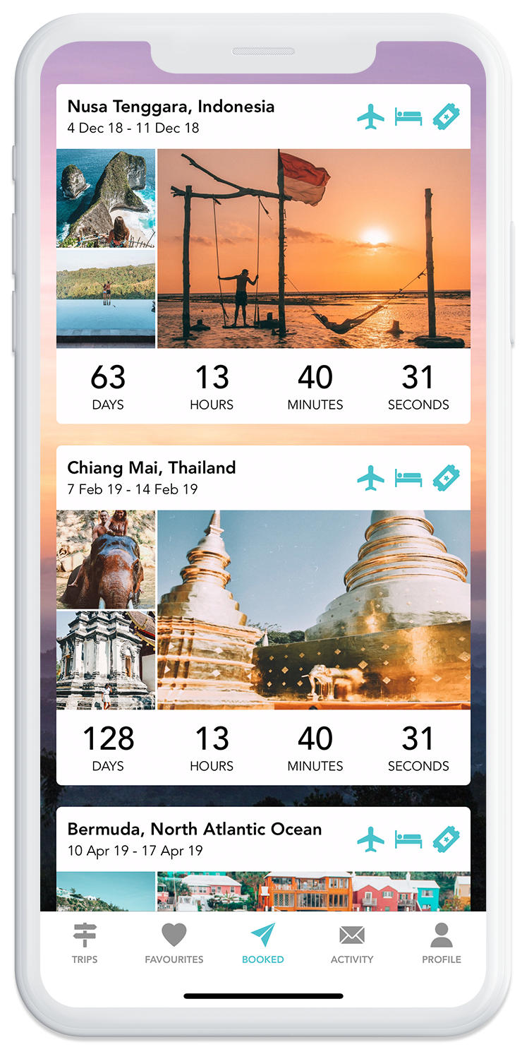 Manage your bookings on the GoHype mobile app