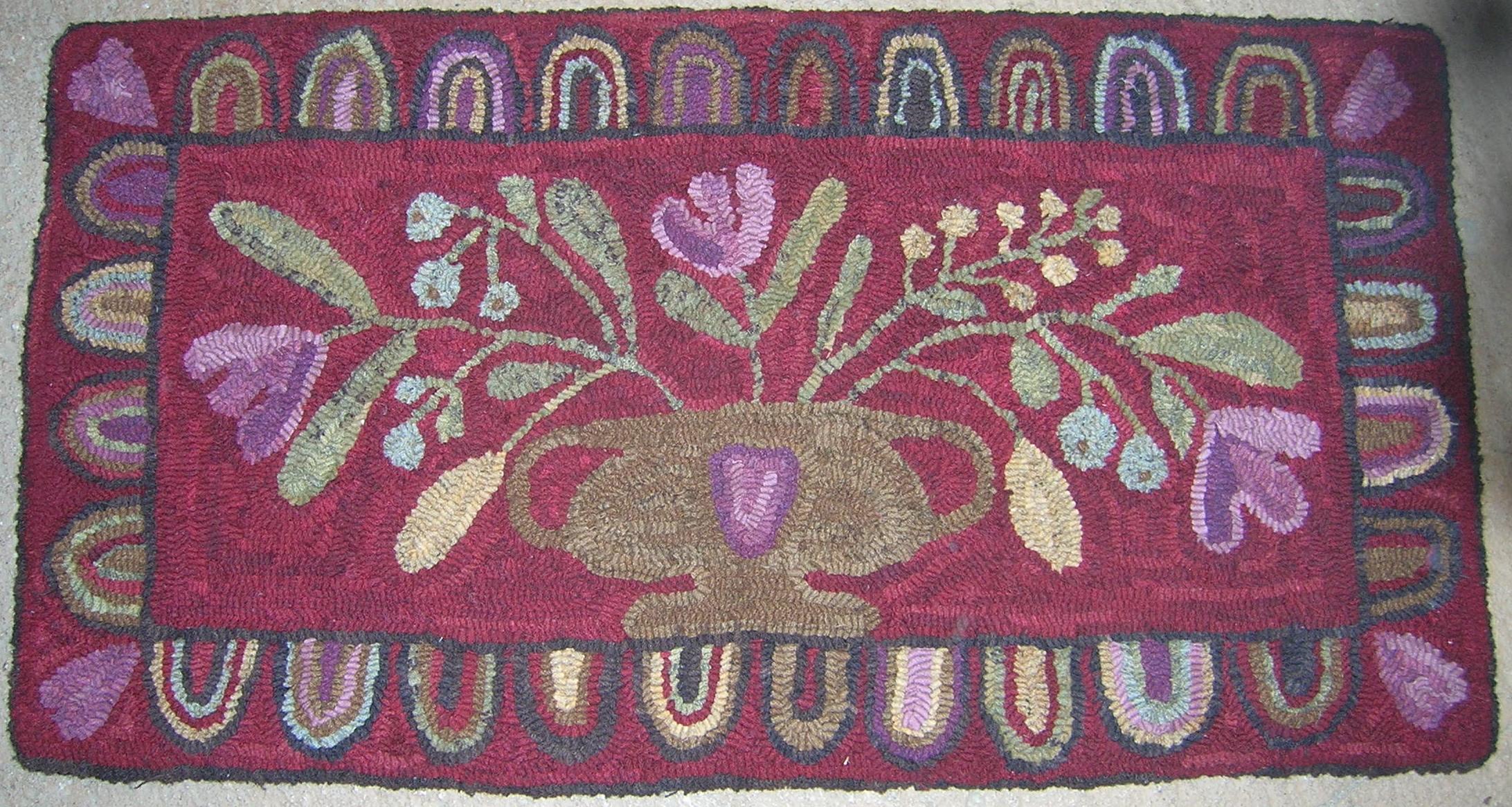 Floral Urn, M. Bonanomi design