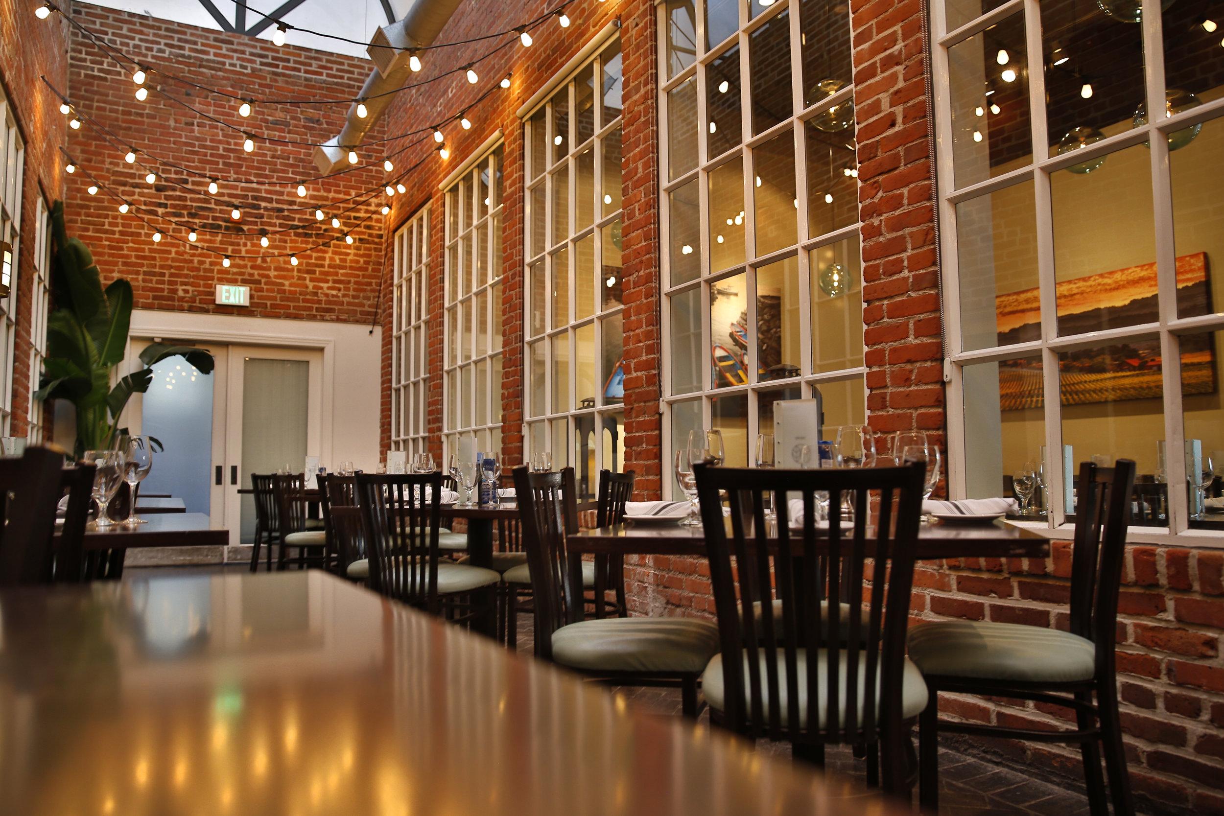 Humboldt Farm Fish Wine Atrium