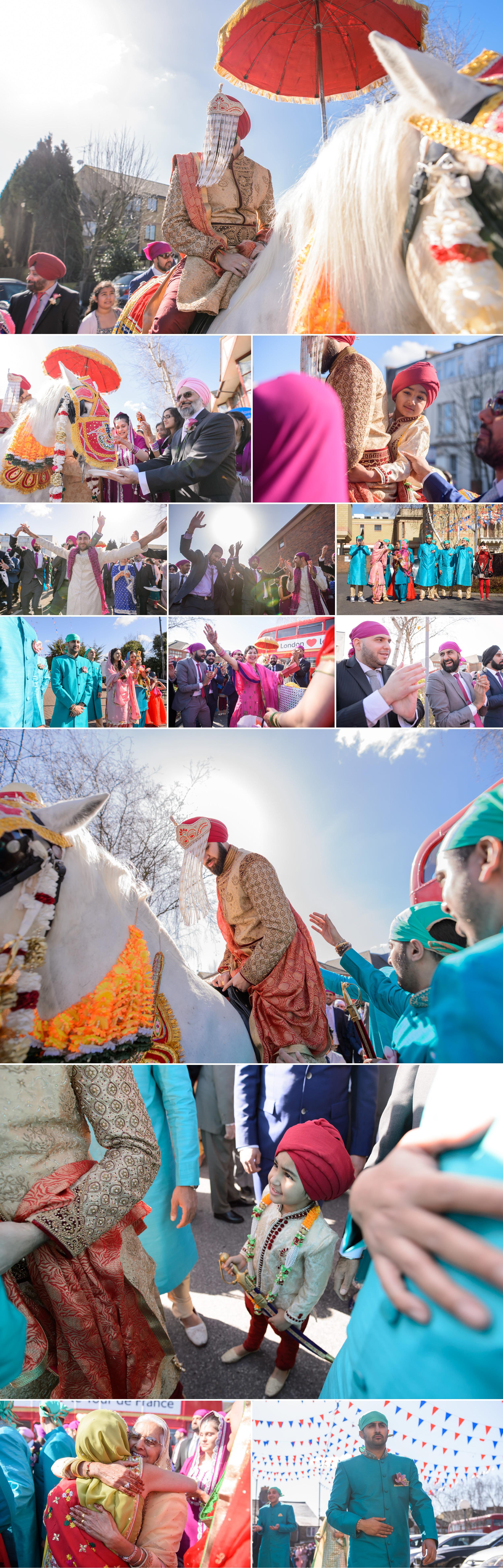 satnam photography sikh wedding ceremony alice way gurdwara london hounslow wedding photography-3