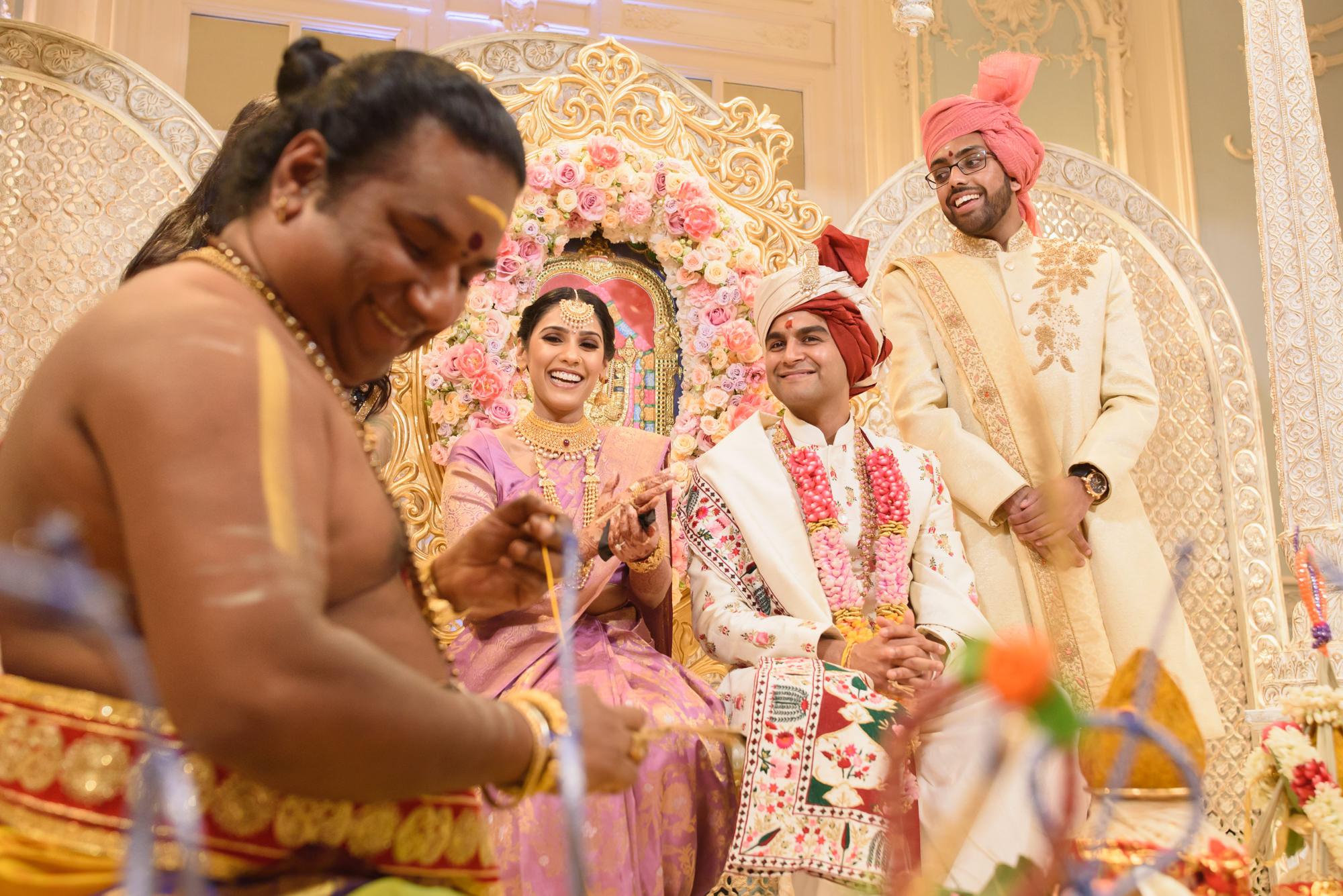 Tamil Gujrati hindu wedding photography photographer london the savoy -43.jpg