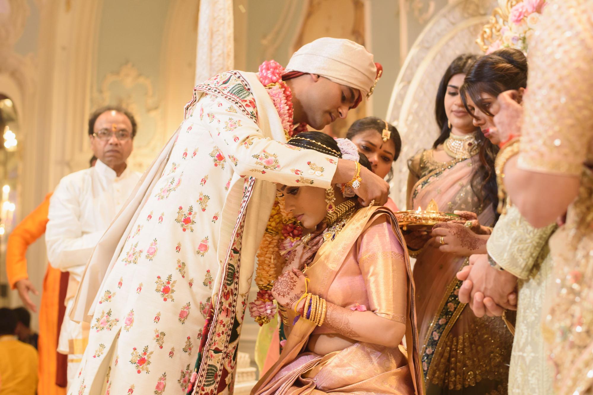 Tamil Gujrati hindu wedding photography photographer london the savoy -56.jpg