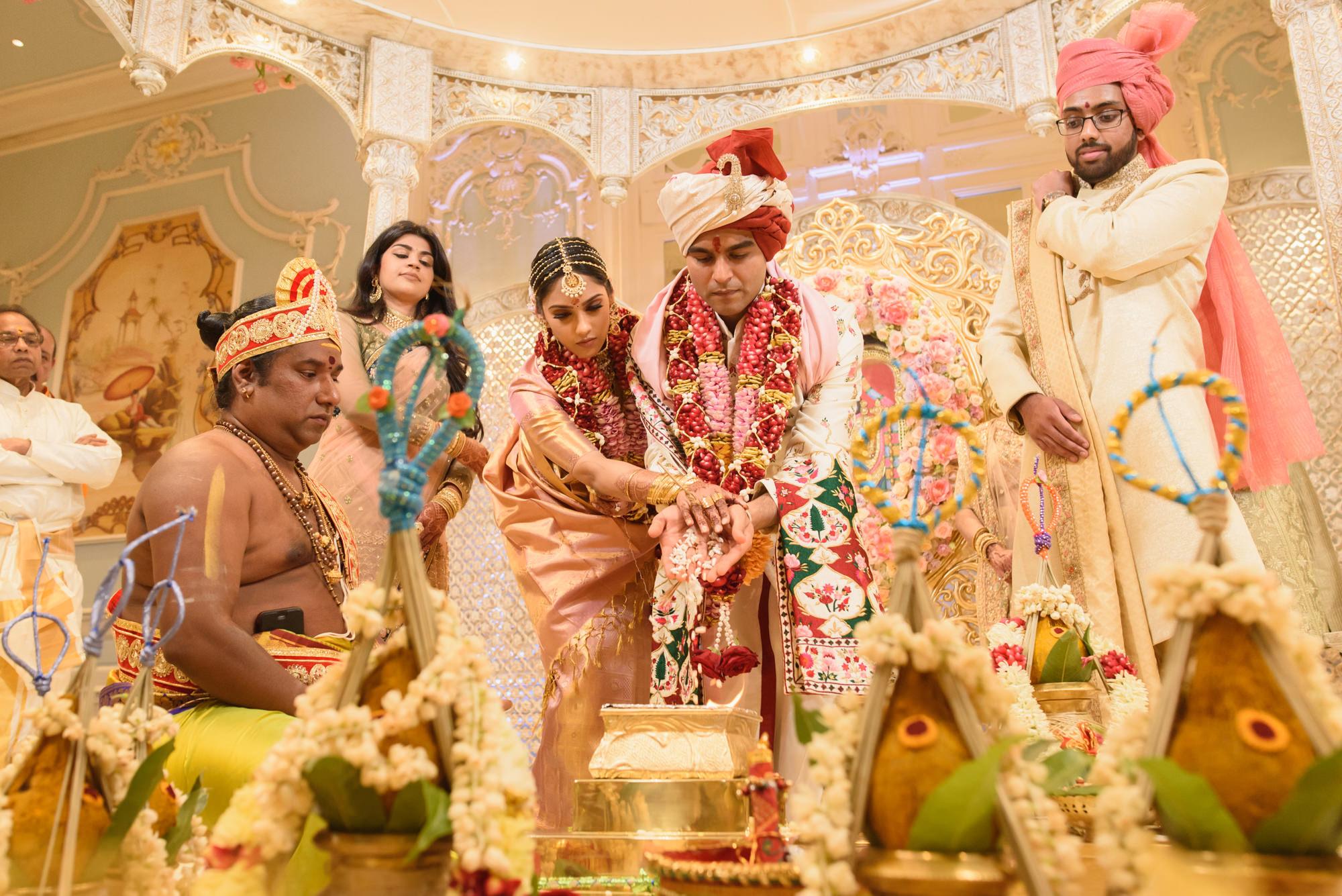 Tamil Gujrati hindu wedding photography photographer london the savoy -57.jpg