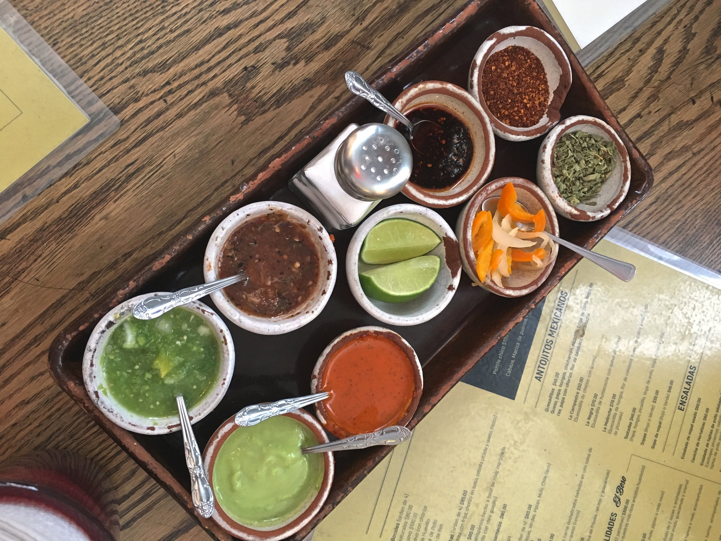 It's all about the salsa.
