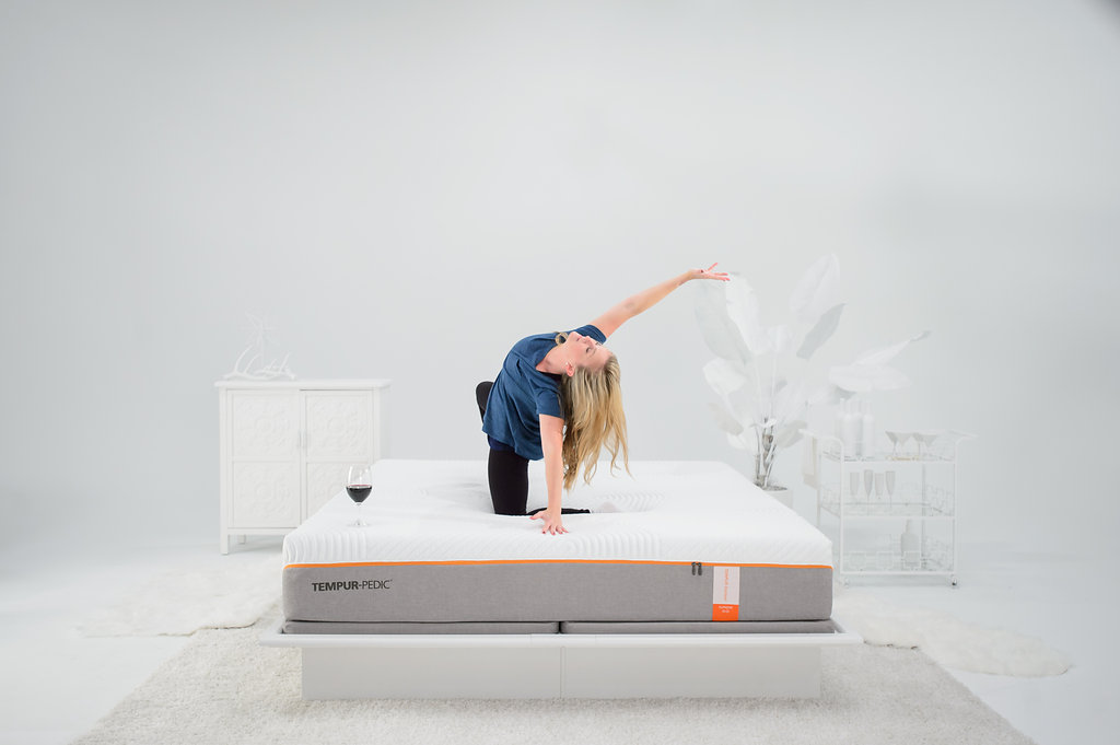 Temper Pedic Mattress Video Shoot