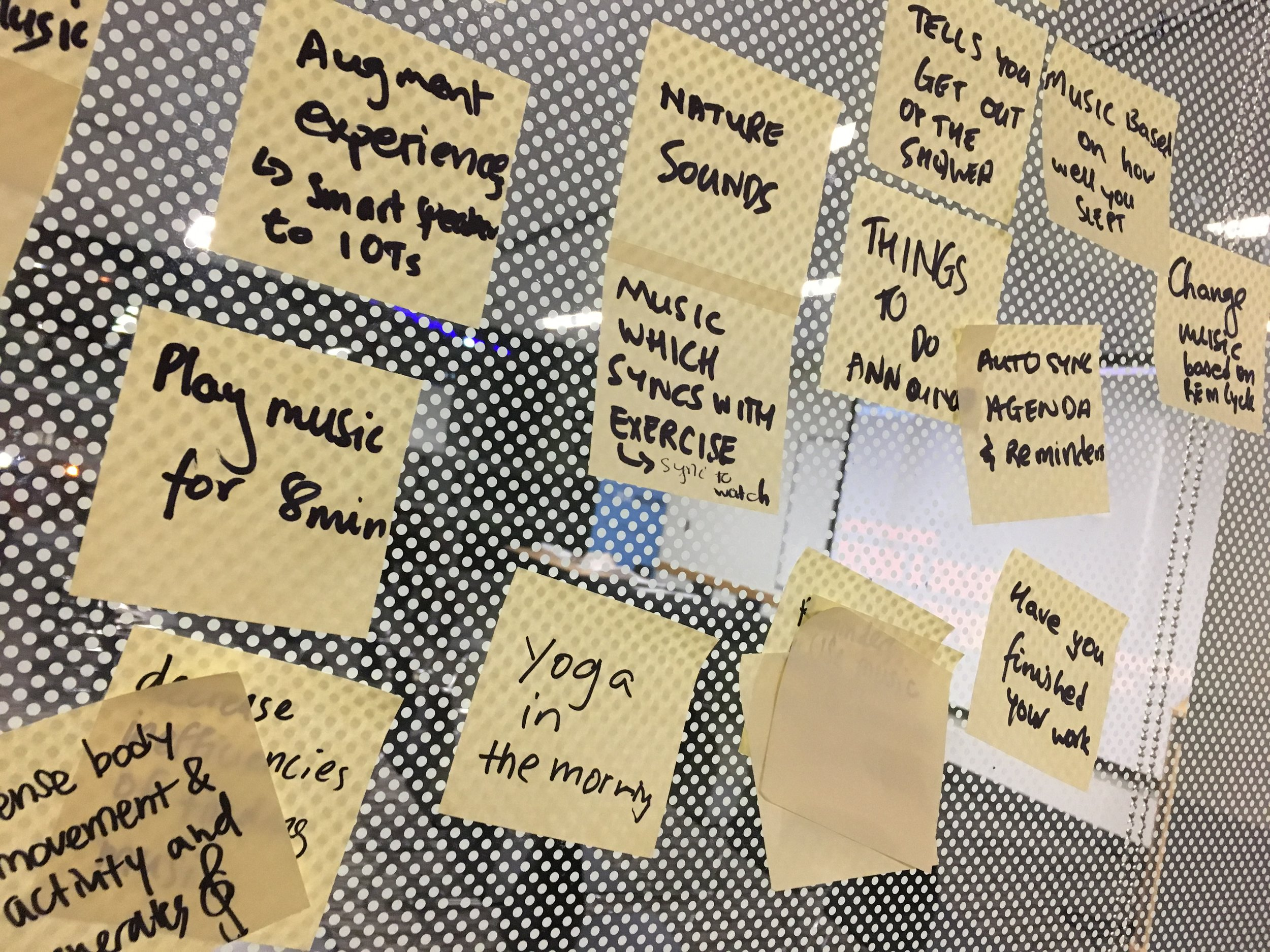 You'll need a lot of sticky notes.   Photo credit:  Lucas Boland  for Real Industry