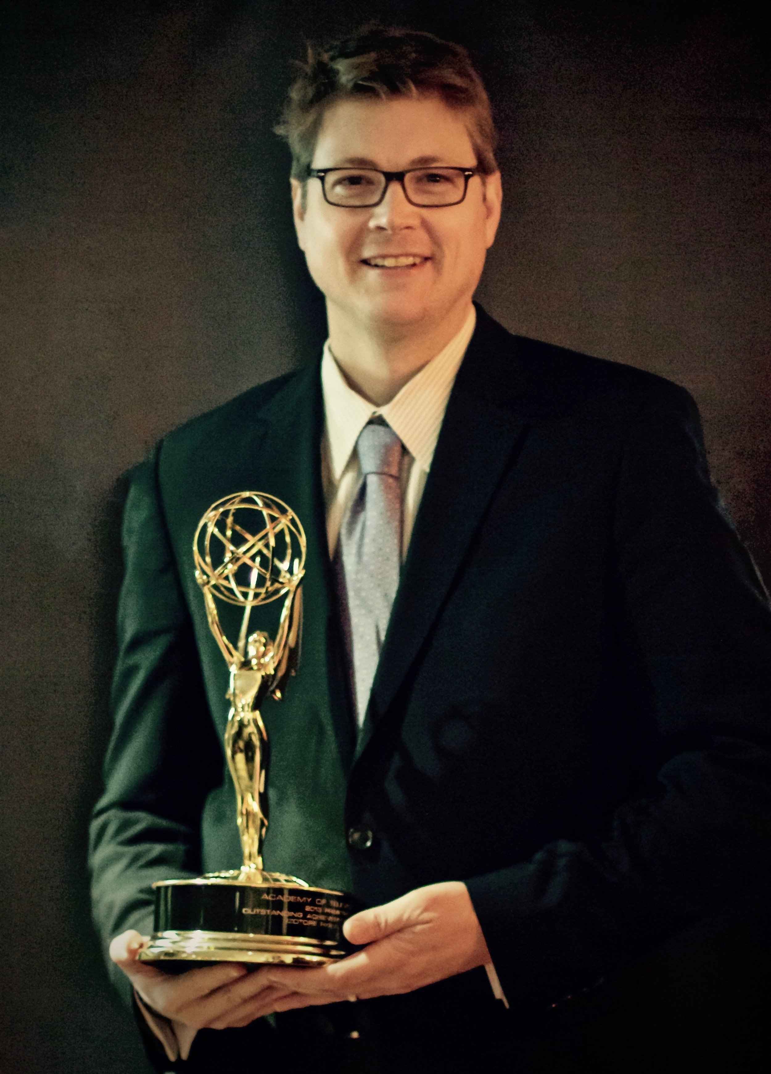 iZotope's Emmy Award in 2013
