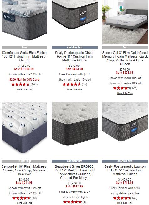 Macy's mattresses on sale   (  Source: Macy's  )