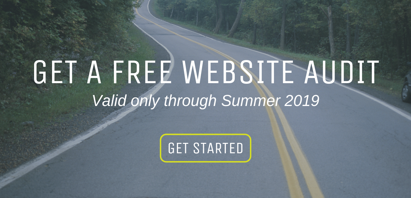 Summer 2019 Free Website Audit Offer from Go 2 Market Coach