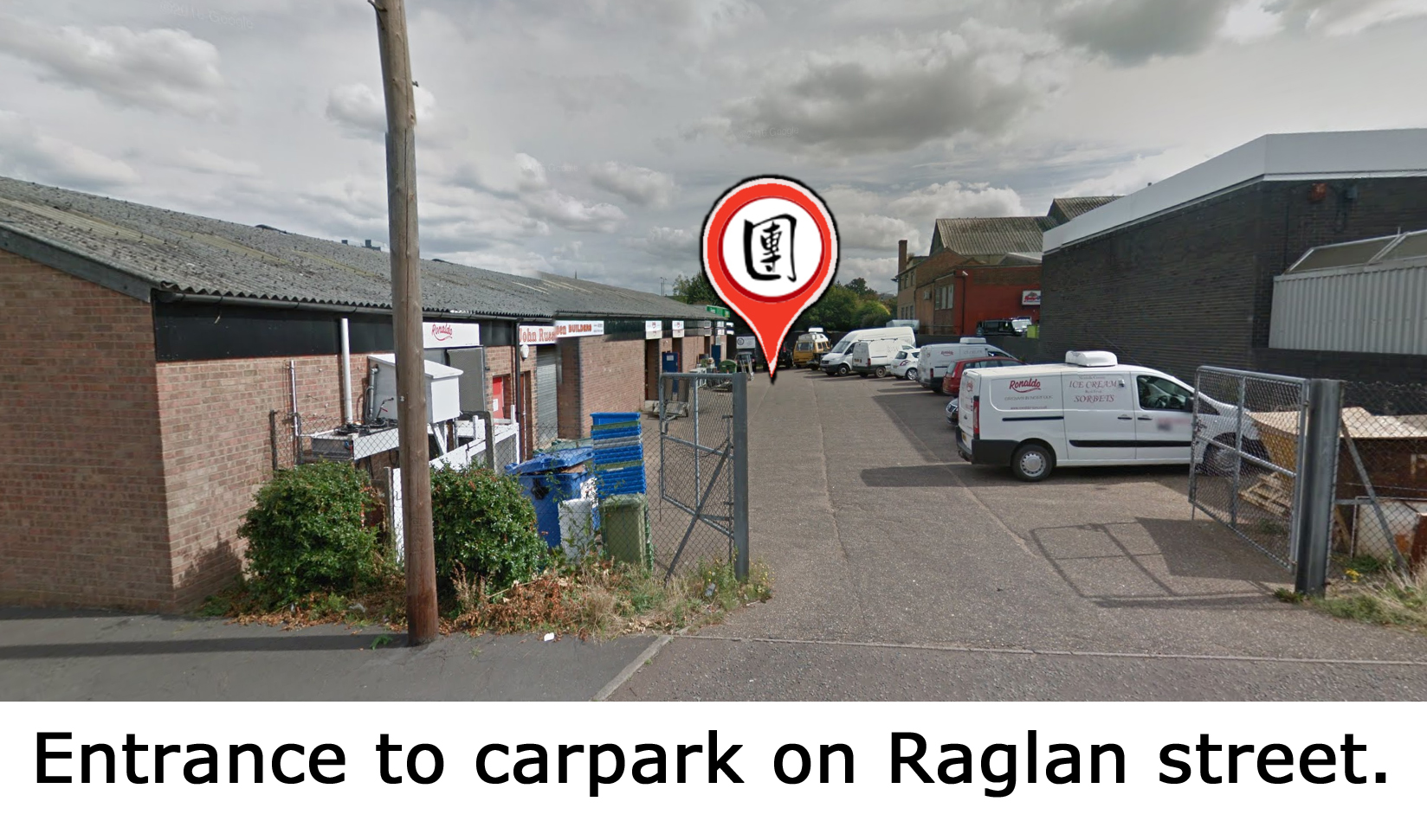 lohan martial arts map carpark Norwich.jpg