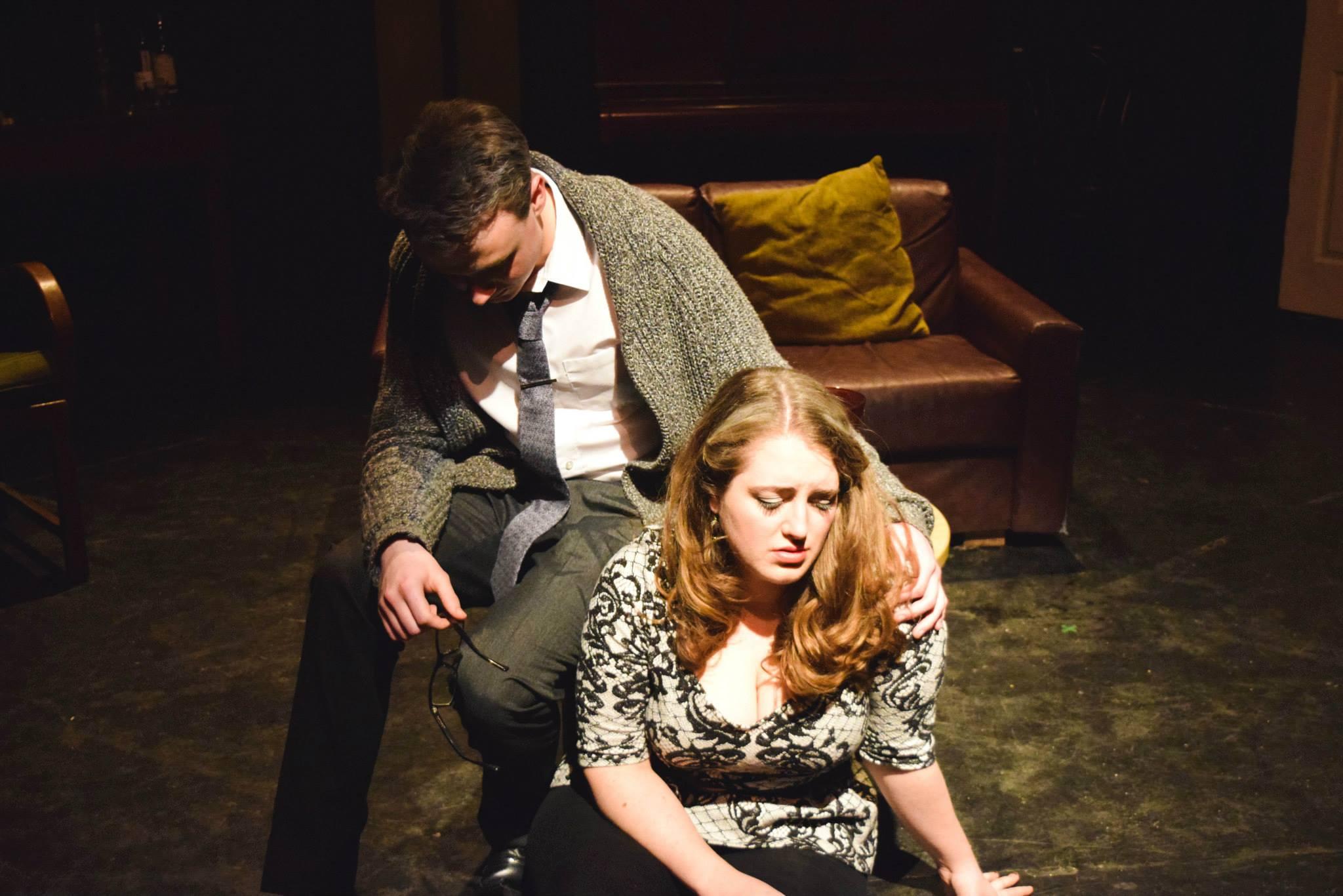 Who's Afraid of Virginia Woolf? (Edward Albee), 2014, The Barron Theatre   Image: Louis Catliff