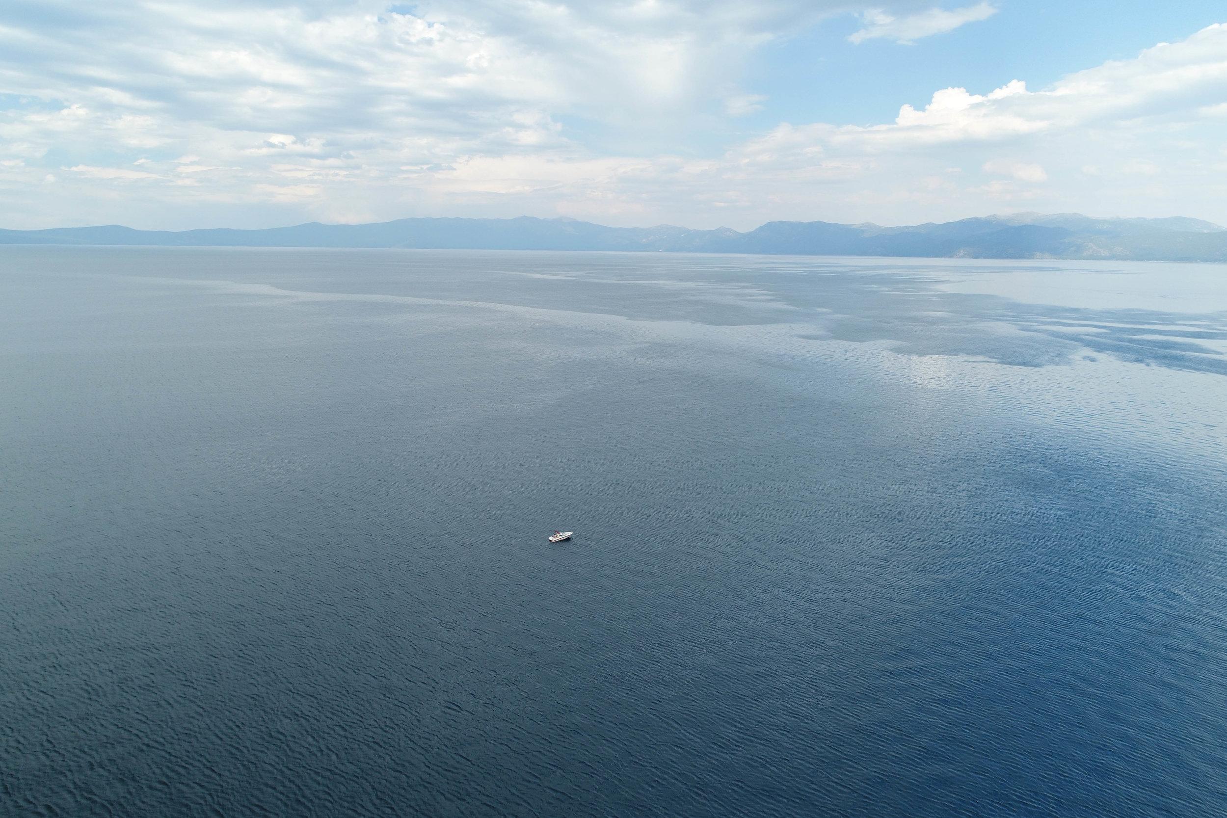 Lake Tahoe Selfie