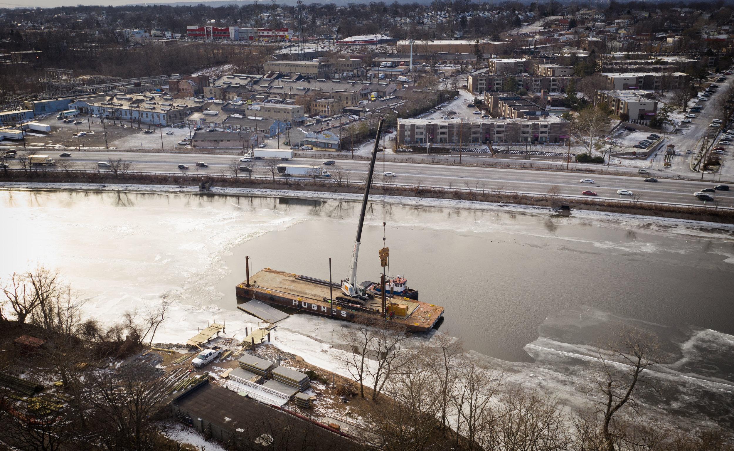 Cranes Barges NJ