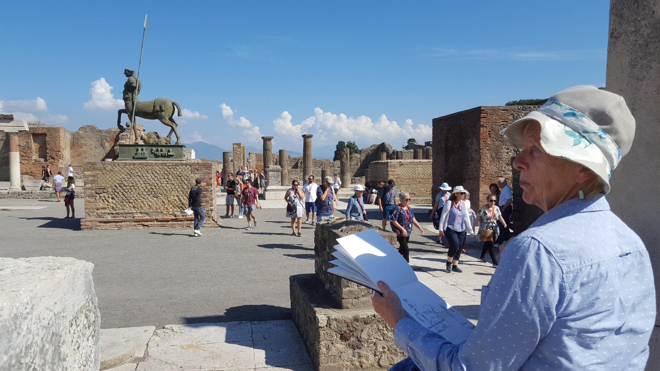 Amalfi-Pompeii art holiday