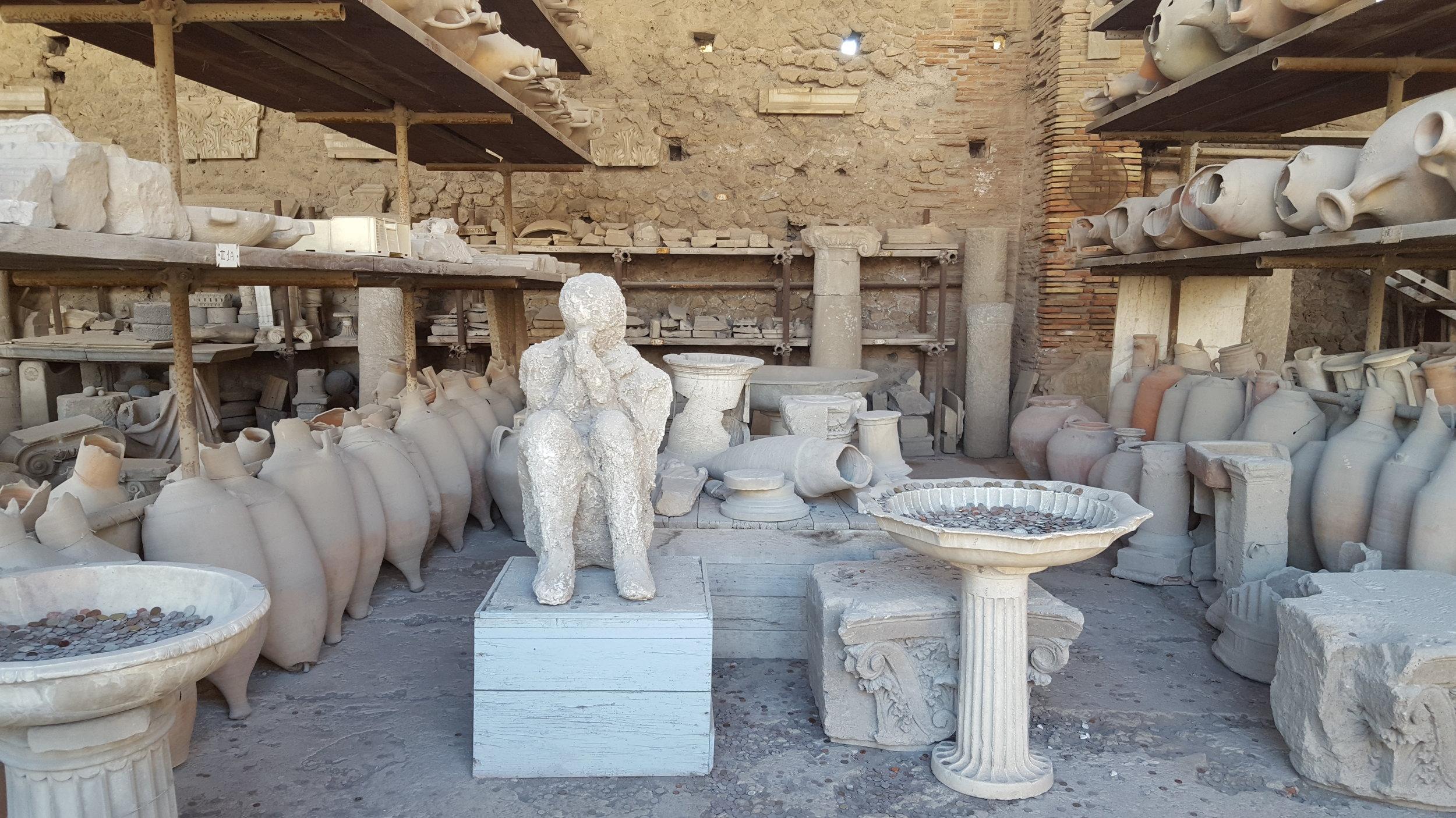 Amalfi Pompeii painting vacation