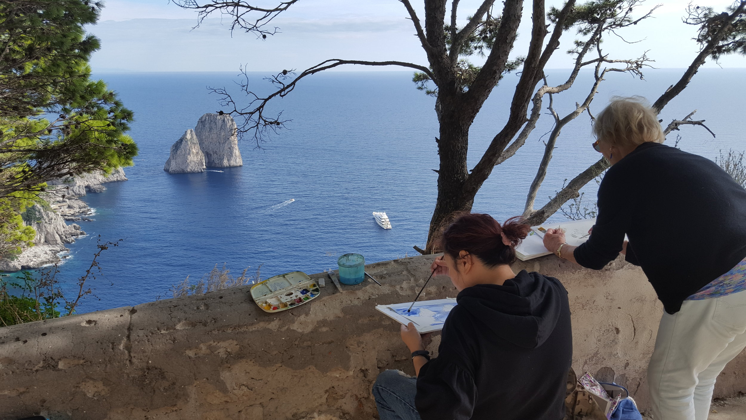 Painting holiday Italy