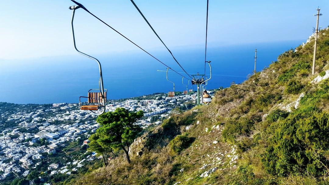 Capri art holiday