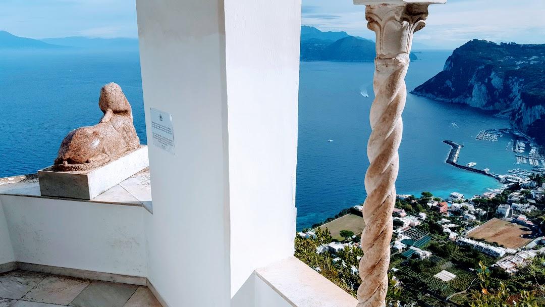Painting holiday Italy Capri