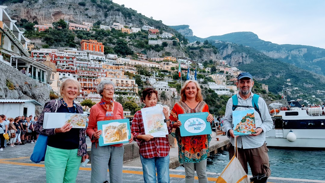 Painting holiday in Amalfi