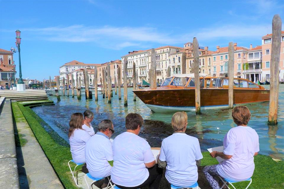 Painting holiday Venice