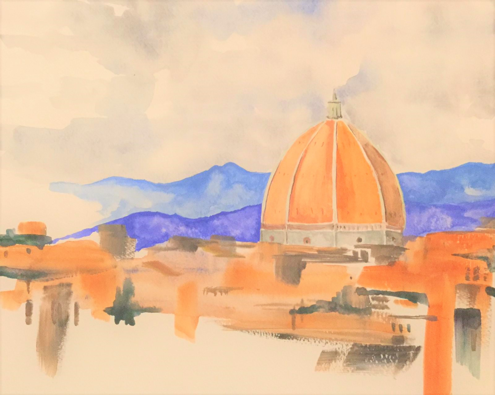Painting holiday Tuscany