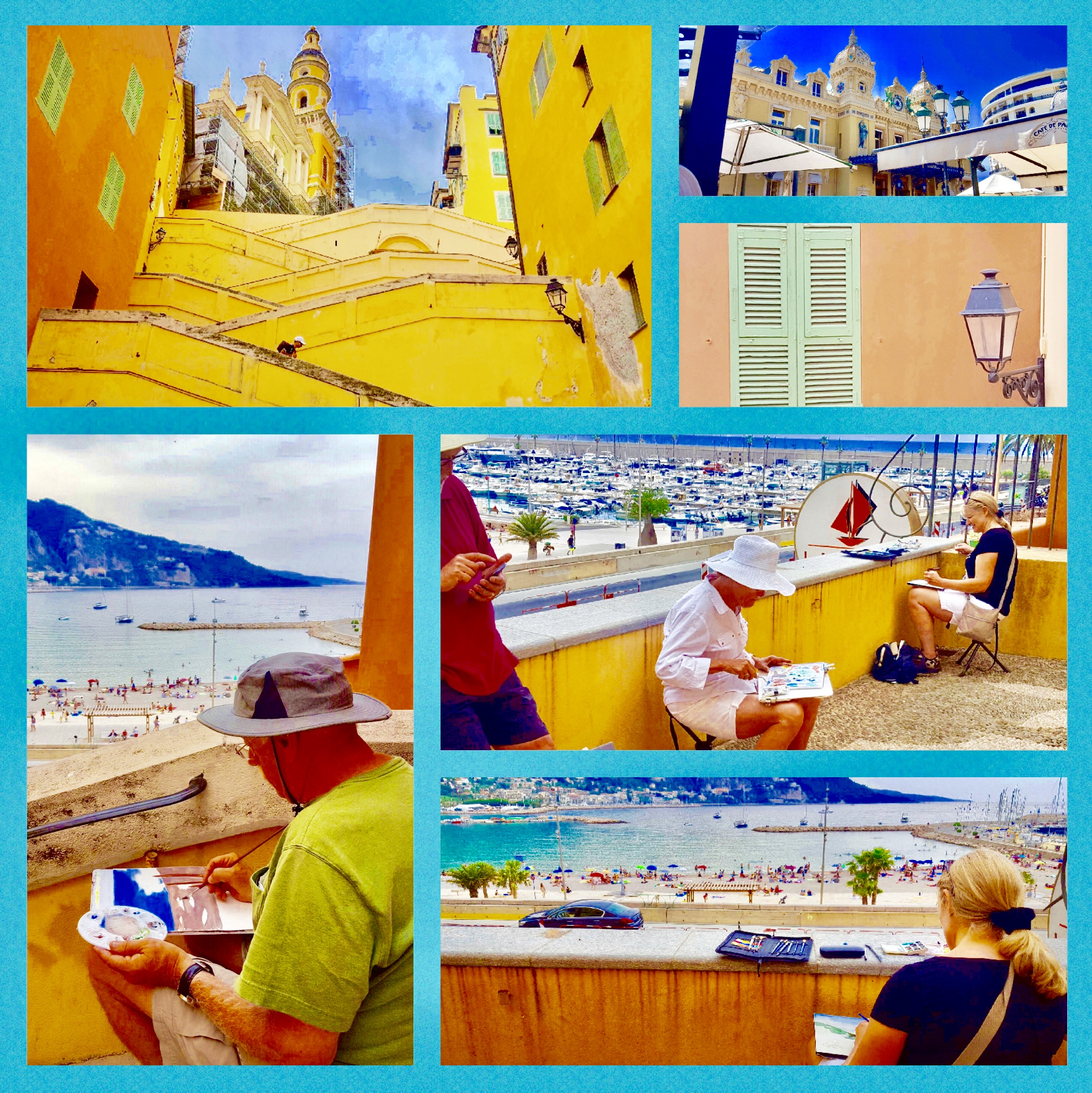 South of France painting holiday
