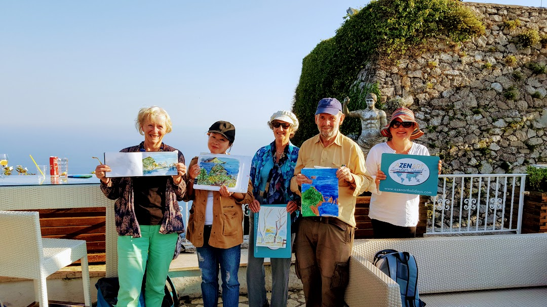 CAPRI PAINTING/DRAWING HOLIDAY