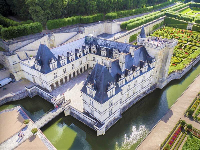 Château de Villandry and jardins (gardens).
