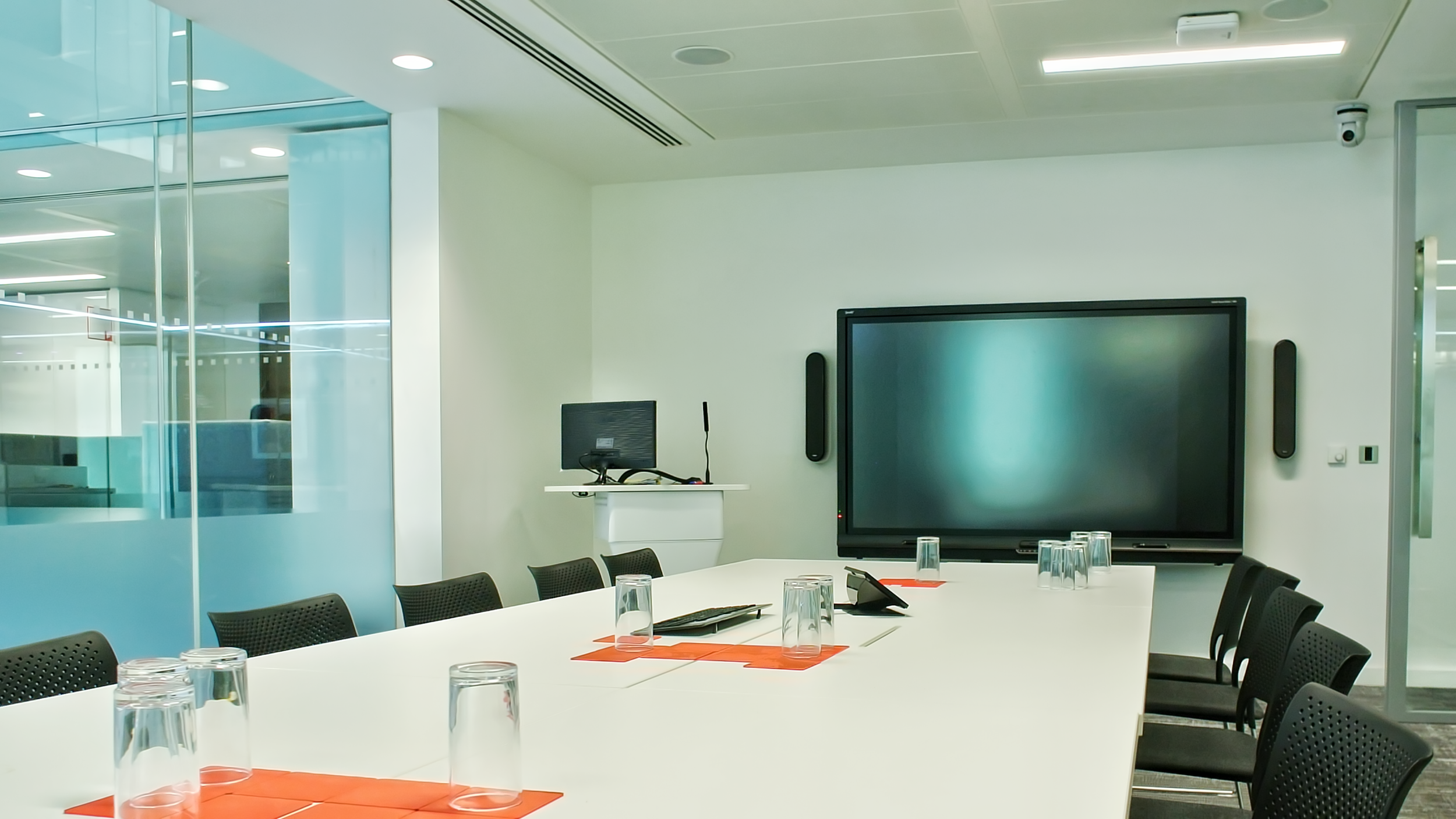 Technology Enabled Meeting Space