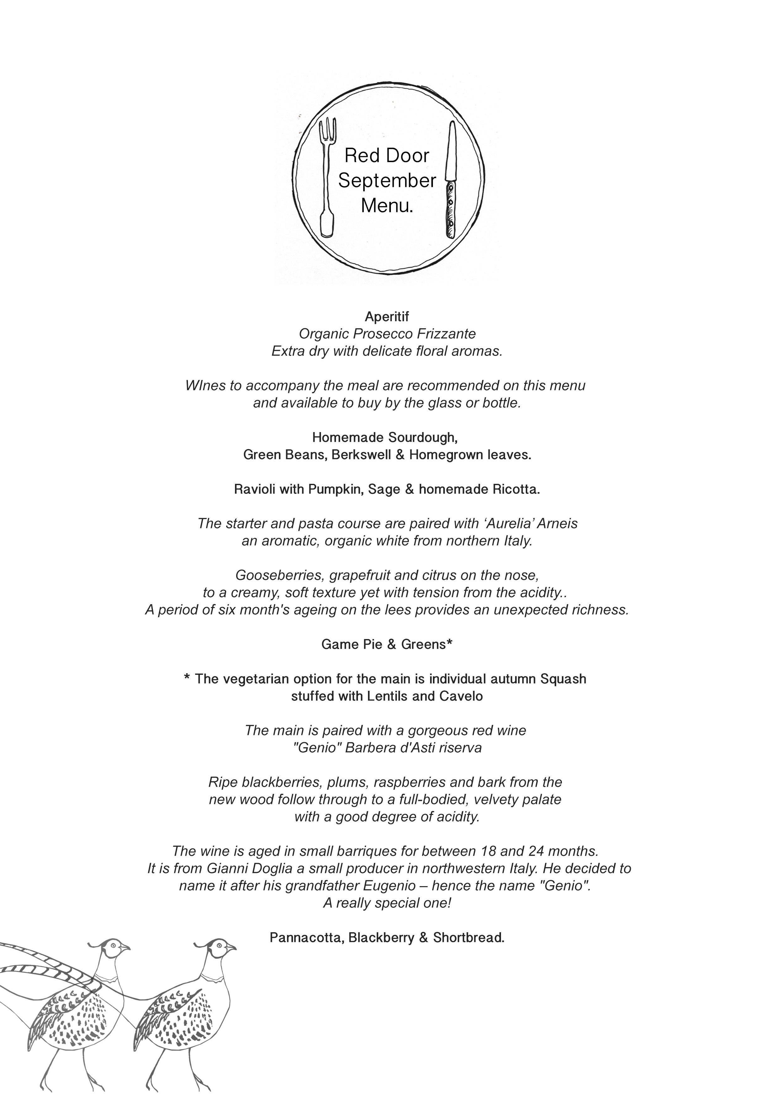 Red Door September menu with wine.jpg