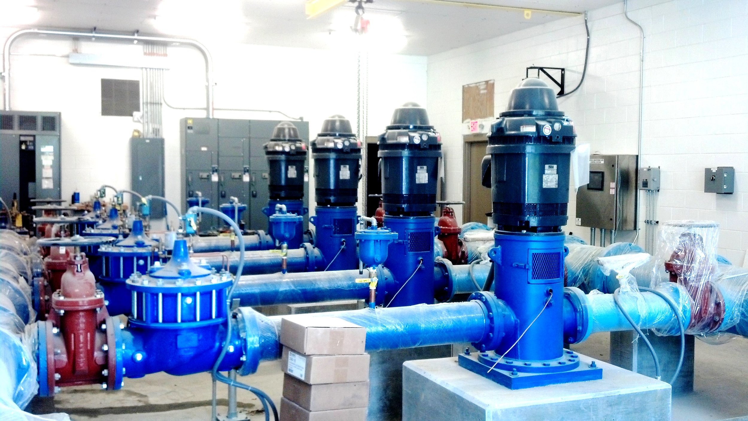 4 CAN PUMPS SYDNOR  JOB   HYROFLO PUMPS.jpg