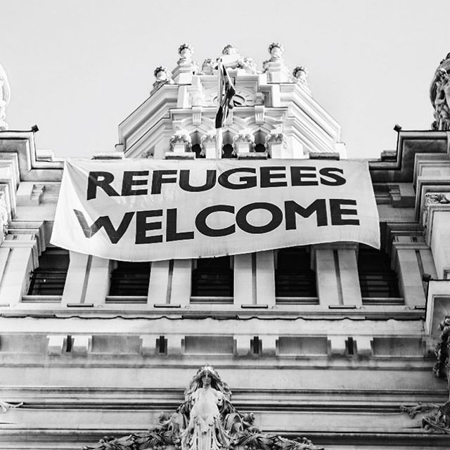 """Today is World Refugee Day. """"In a world where violence forces thousands of families to flee for their lives each day, the time is now to show that the global public stands with refugees. """" - WFD, United Nations.  image by @miteneva via unsplash."""