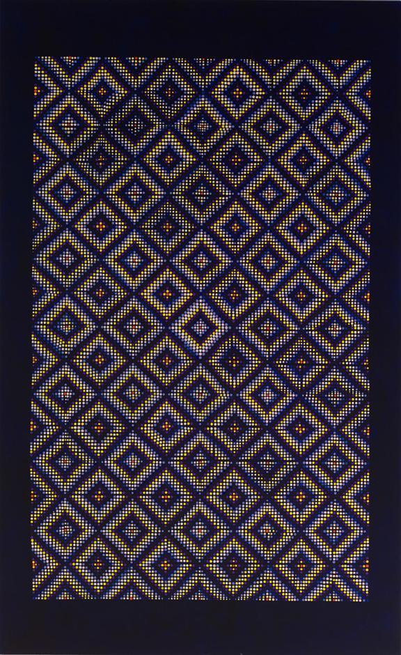"""Night, oil on linen, 78"""" x 48"""", 2017"""