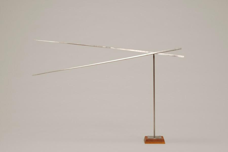 George Rickey  Two Horizontal Lines  (1966)