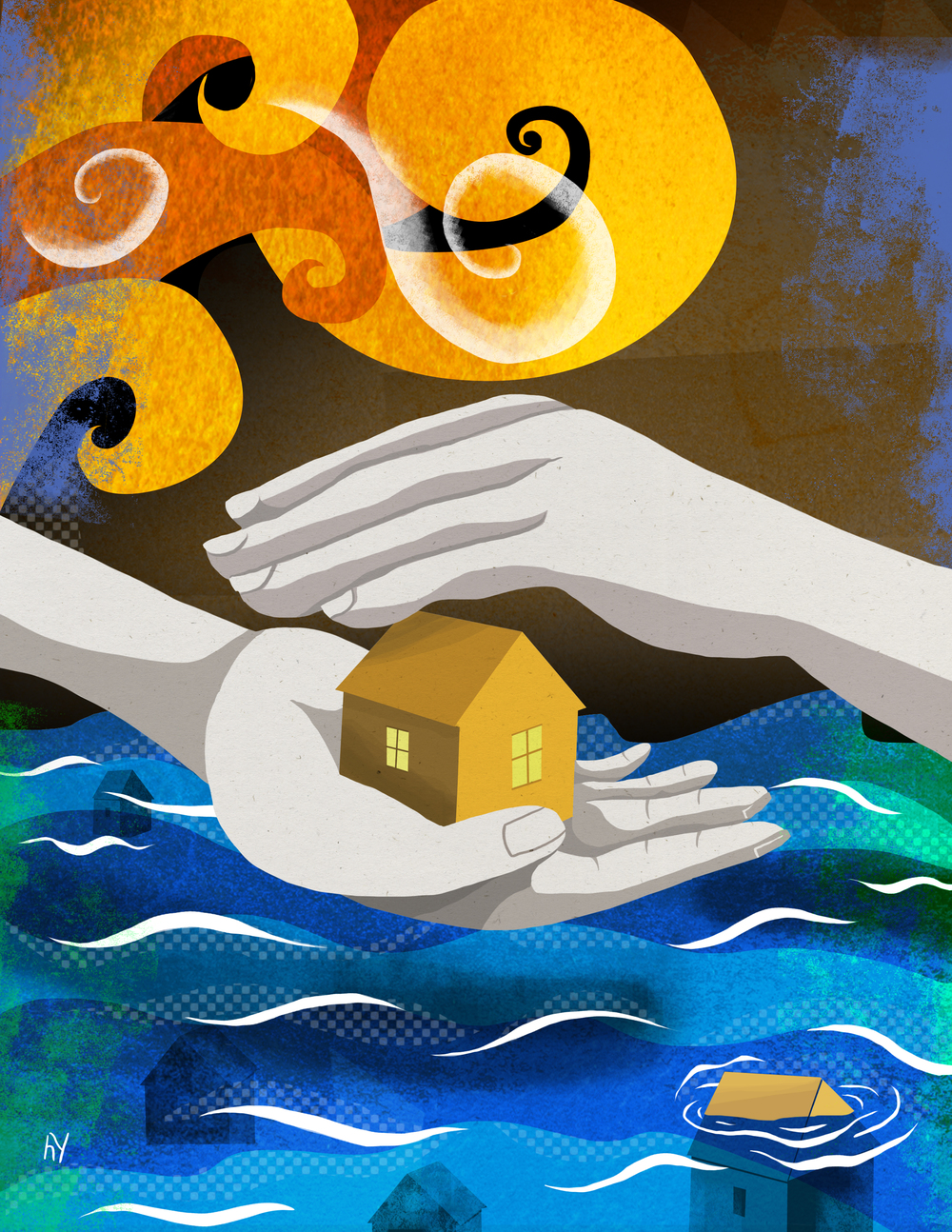 Flood insurance, for Common Ground Magazine