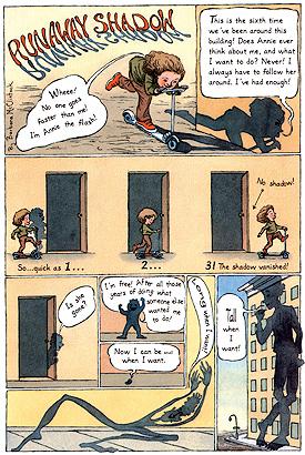 Runaway Shadow for Lil'Lit Strange Stories for Strange Kids, 2001