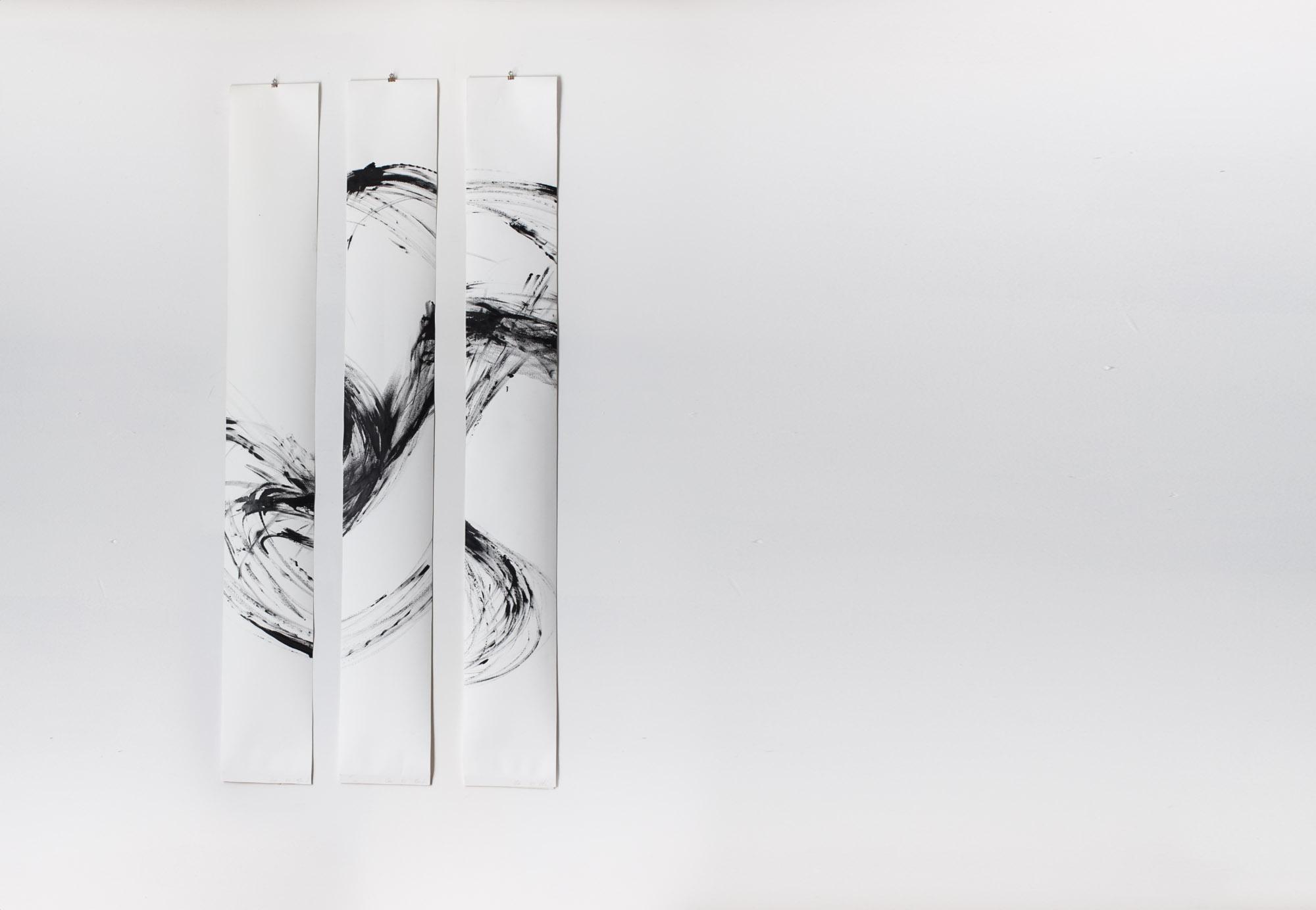 Acryl auf Papier |1m50 x 80cm |verkauft